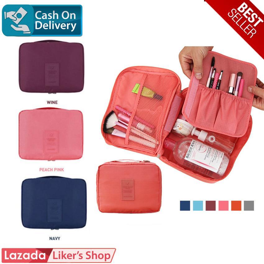 Monopoly Cosmetic Pouch Tas Kosmetik Travel Organizer Make Up Bag Import ?