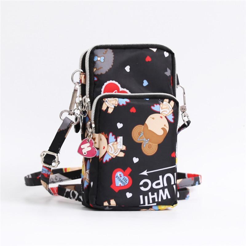 ... Messenger Tas Source · Selempang tas ponsel perempuan 2018 model baru Kartun musim panas tas bahu dengan satu tali tas