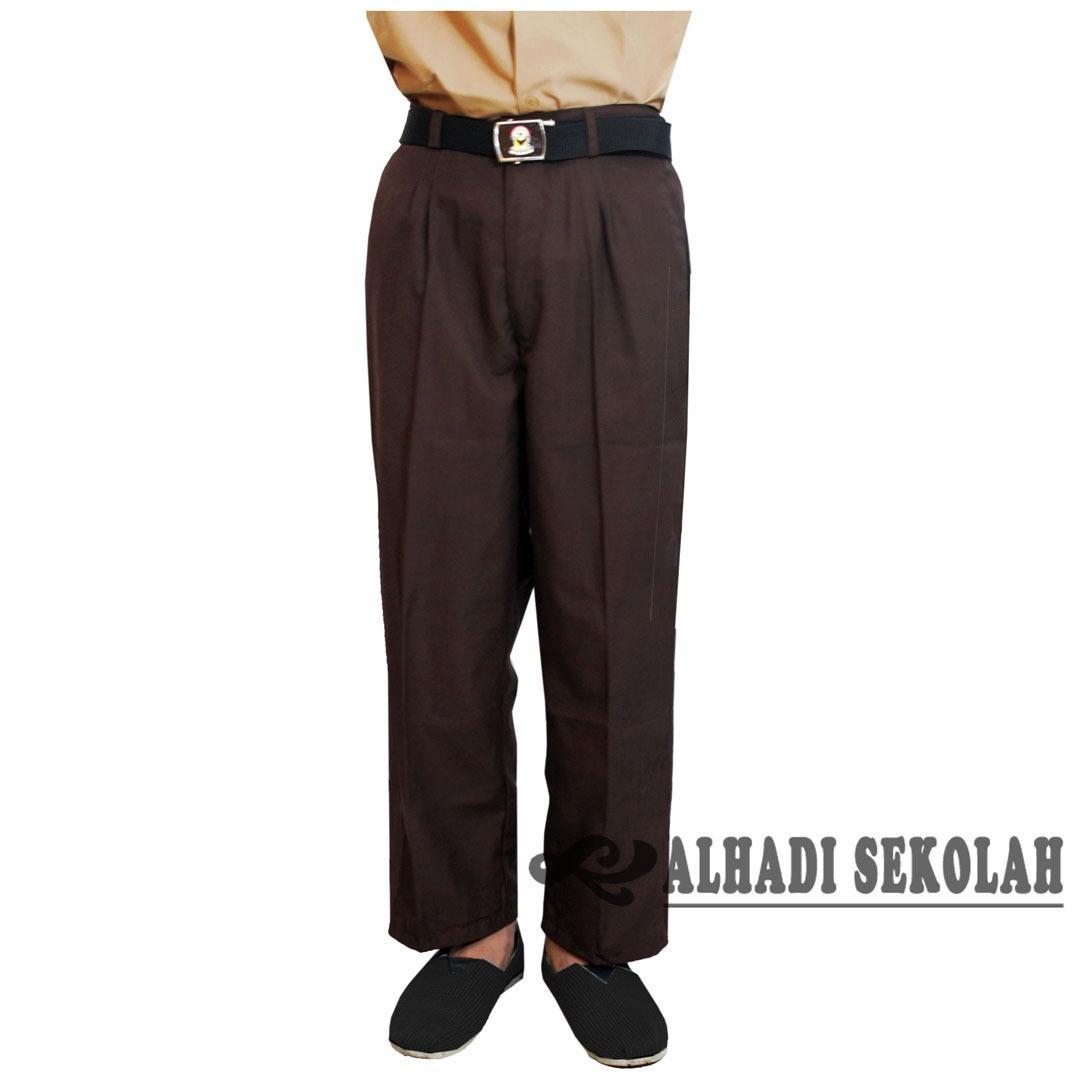Harga Celana Panjang Pramuka Sekolah Smp Dan Sma Ukuran 26 S D 33 Celana Seragam Sekolah Cps001 Batik Alhadi Ori