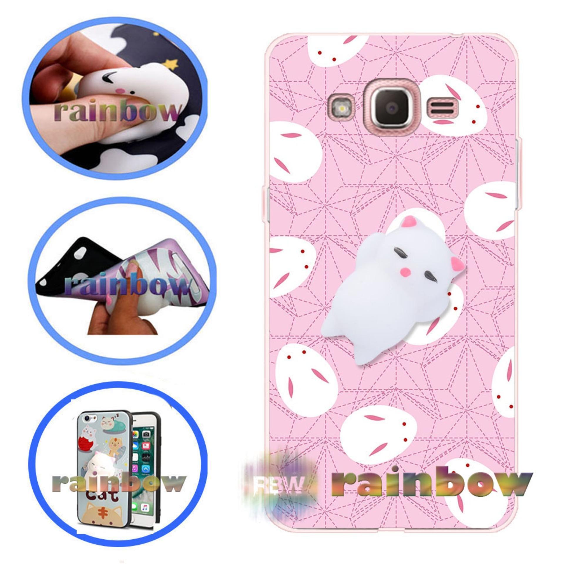 Cek Harga Baru Rainbow Squishy Case Samsung J2 Prime Softcase Silicon 3d Kartun Mungil Lucu Galaxy Rabbit Mozaik Custom Squeeze