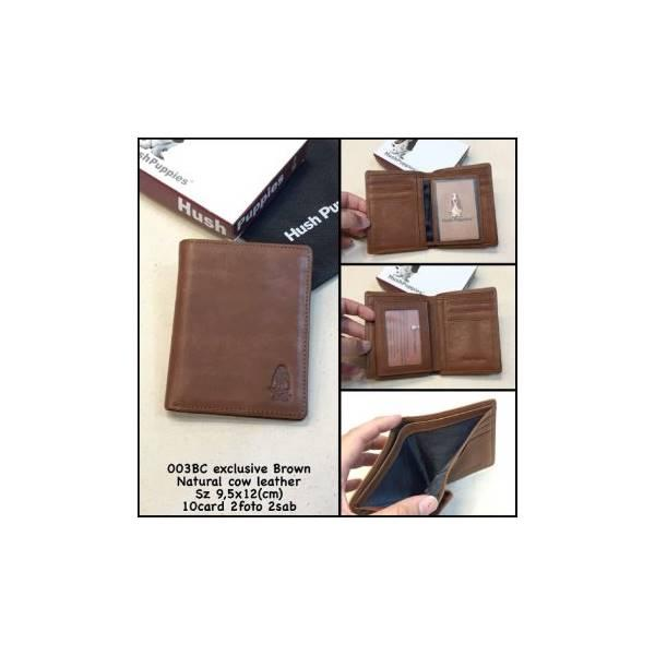 Dompet Hush Puppies 003Bc Brown Kw Mirror Dompet Pria Dompet Murah