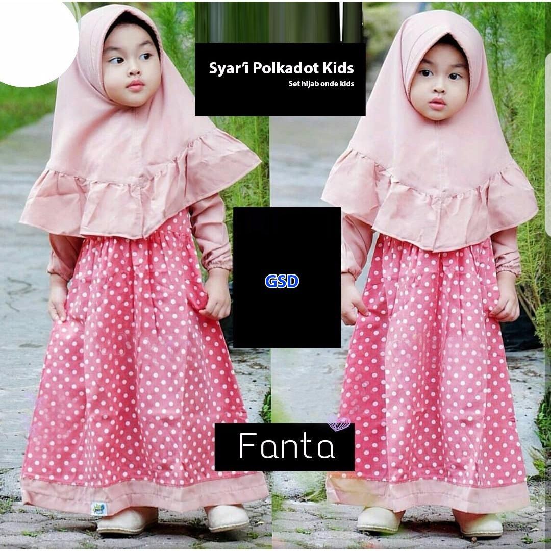 Cek Harga Baru Wow Keren Baju Muslim Anak Gamis Maxi Dress Long