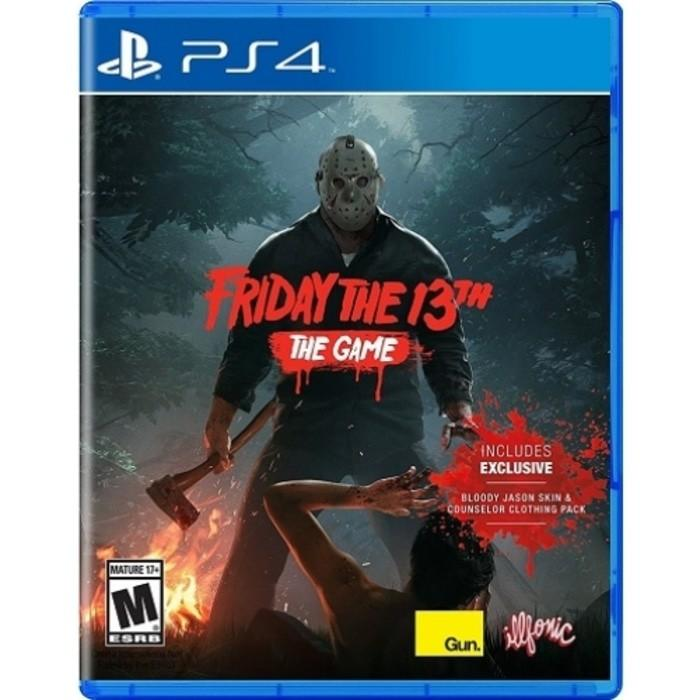 Promo GAME PS4 FRIDAY THE 13TH THE GAME ONLINE REQUIRED REG 1 Limited