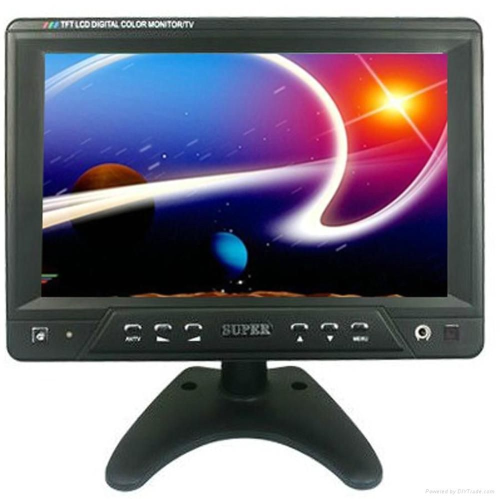 Murah !!! Tv Monitor Super 9-8 Inch Support Tv Tuner & Usb Player