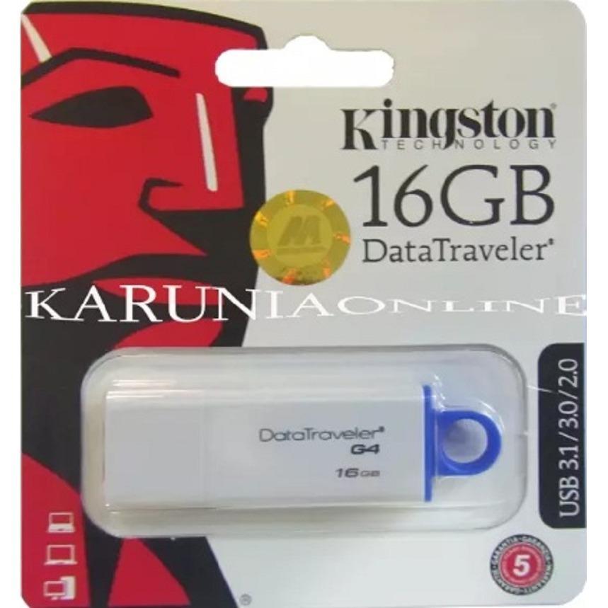 Jual Flashdisk Usb Kingston Dtig4 16Gb Original Garansi Resmi Kingston Original