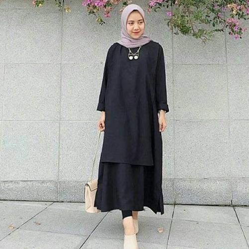 Kualitas Fashion Wanita Baju Atasan Wanita Carey Tunik Balotely Universal