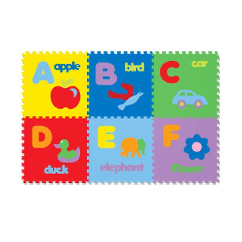 Matras Puzzle Evamat - Huruf Abjad (ISI 26)