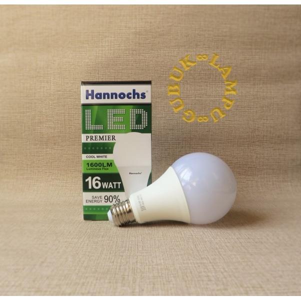 Detail Gambar Lampu LED Bulb (Bohlam) Hannochs Premier 16 Watt - Putih Terbaru