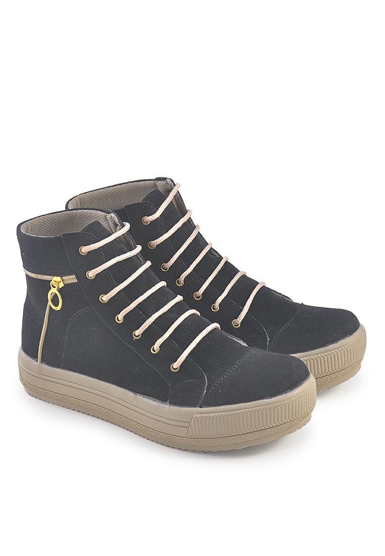 sepatu boot wanita wanita [java seven-bri 123]