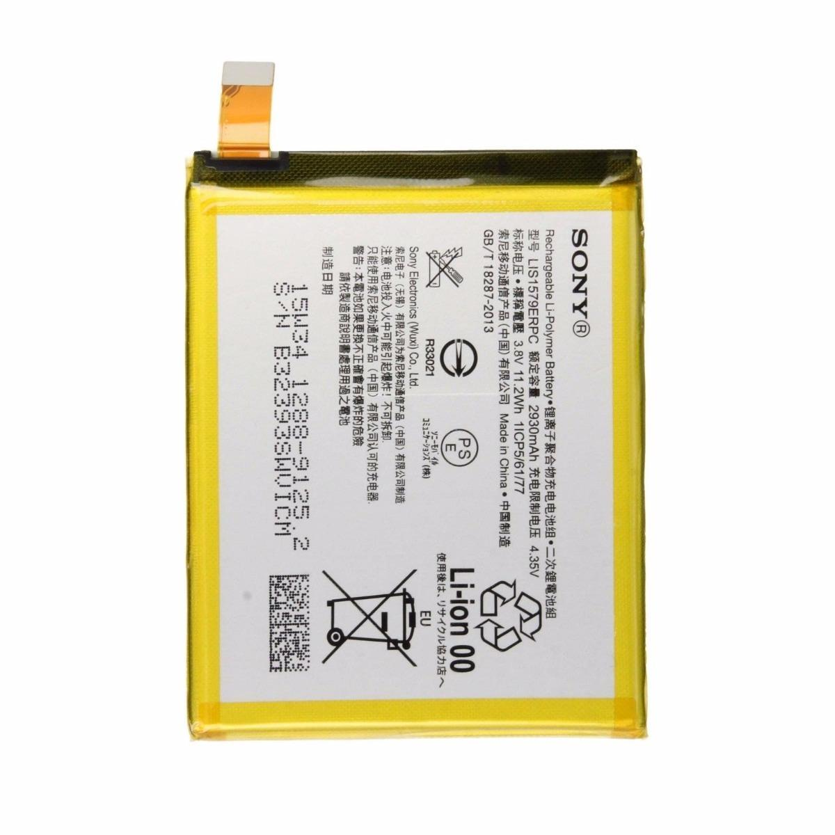 Sony Baterai / Battery Sony Xperia Z4 / Z3 PLUS Original - Kapasitas .