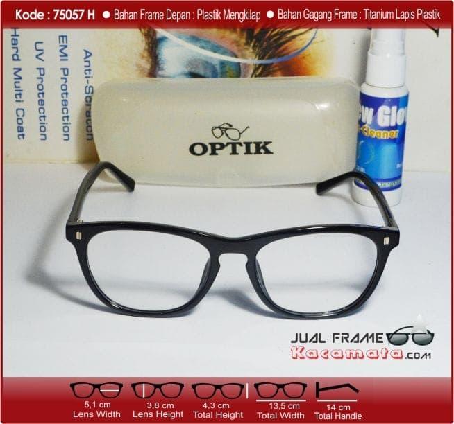 Detail Gambar DISKON Frame Kacamata + Lensa Minus Antiradiasi Pria Wanita  Korea Murah Kotak TERMURAH Terbaru 3b4f4d1295