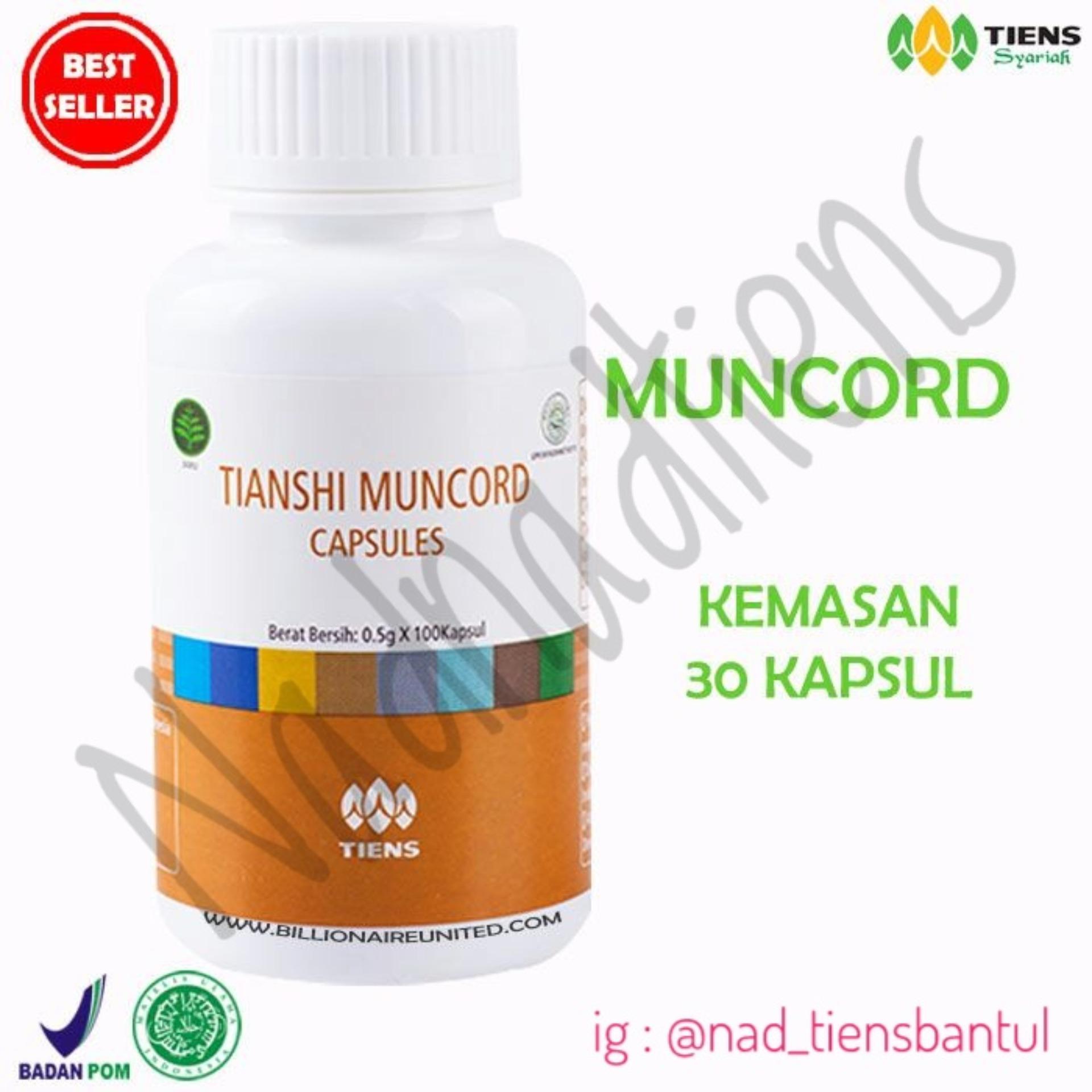 Tiens Muncord Herbal Alami Untuk Solusi Para Perokok Paket 30 Kapsul Nadnadtiens Tiens Diskon