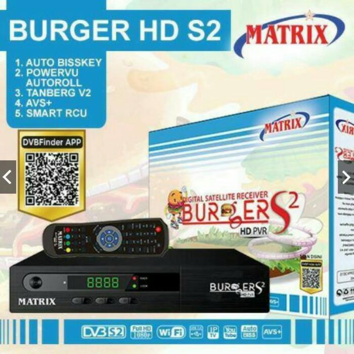 Receiver Parabola Matrix Burger HD S2 AVS+