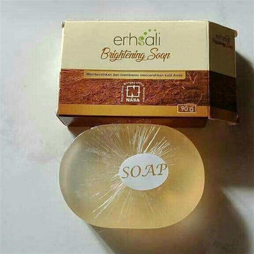 Erhsali Brightening Soap Original Nasa Membersihkan Dan Mencerahkan Wajah f4f61d4470