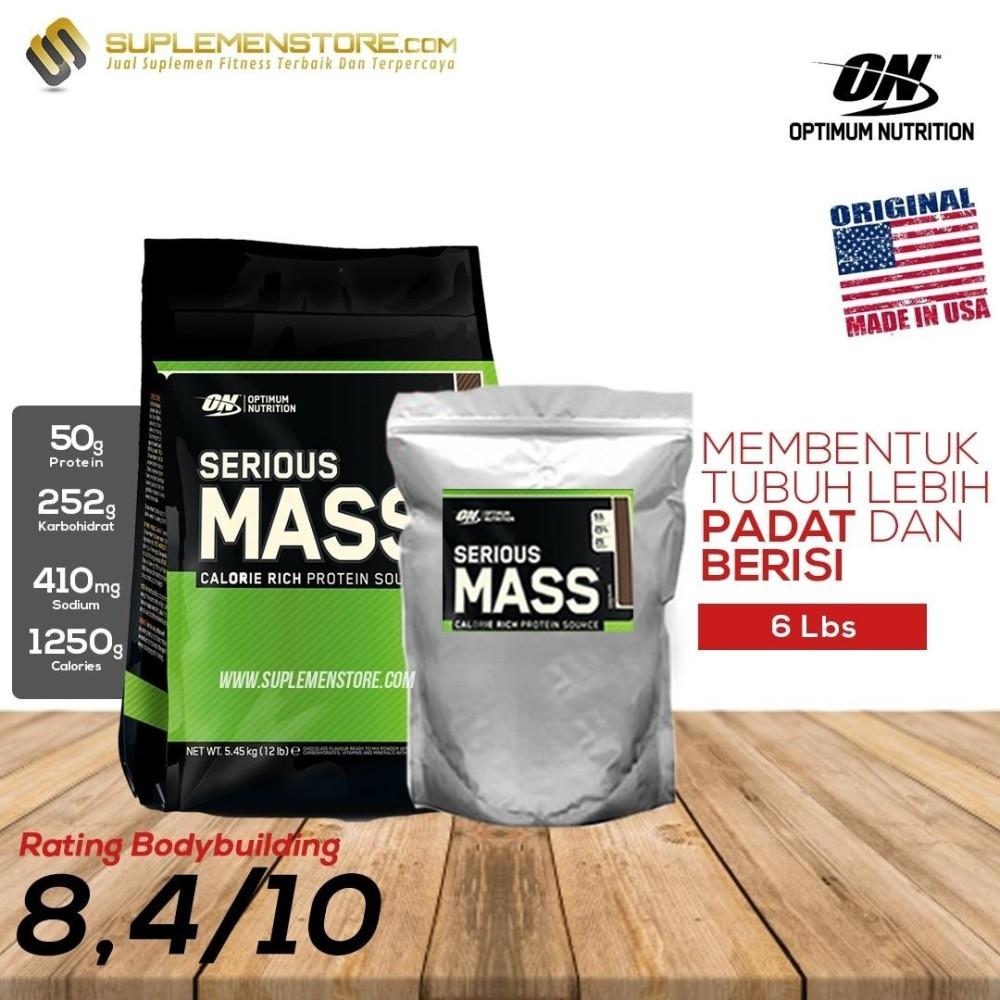 Optimum Nutrition Serious Mass Gainer 6lb Eceran