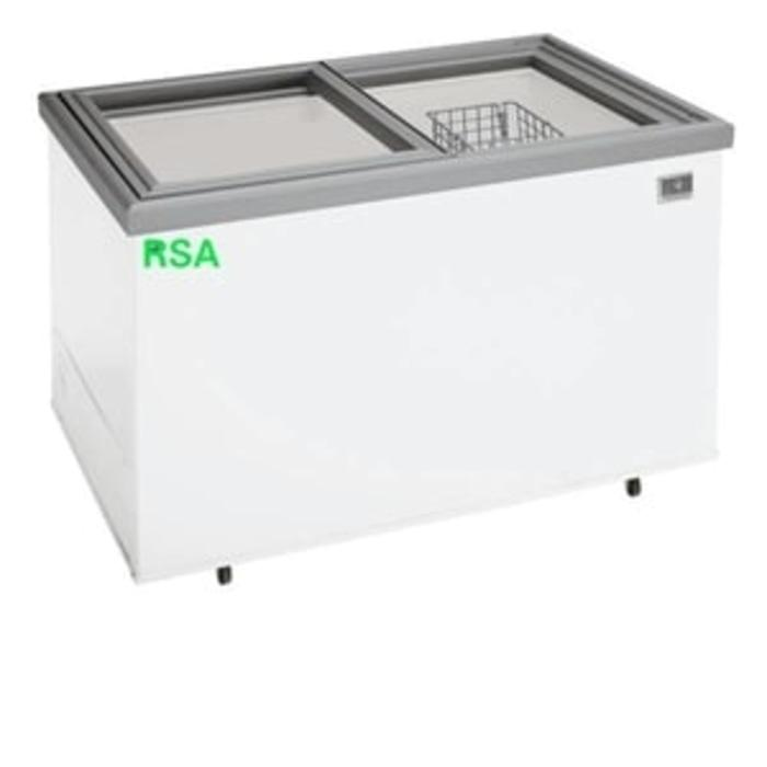 SLIDING FLAT GLASS FREEZER RSA XS-200