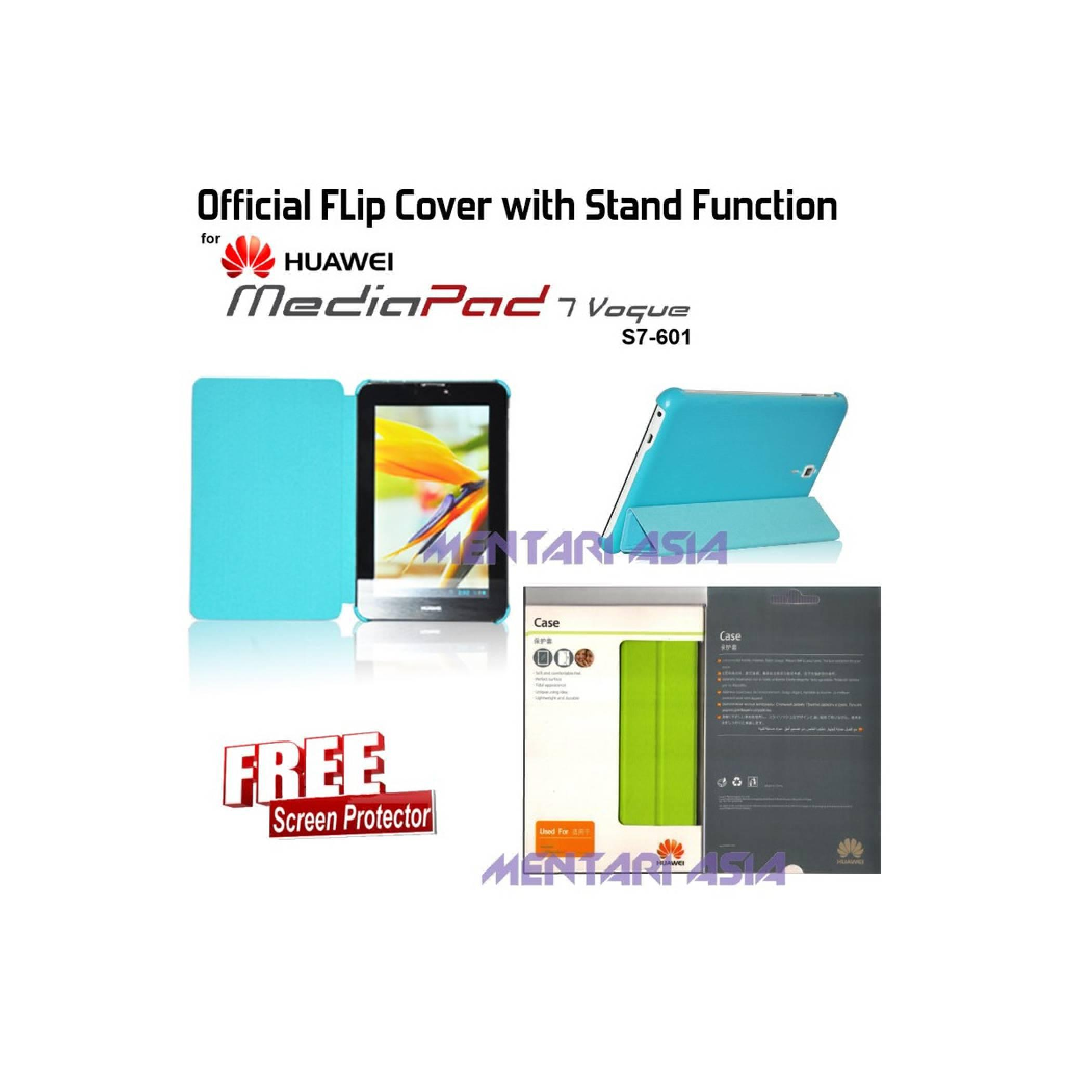 Flipcover HUAWEI MediaPad 7 Vogue S7-601 : Official Flipcover with Stand Function ( + FREE SP)