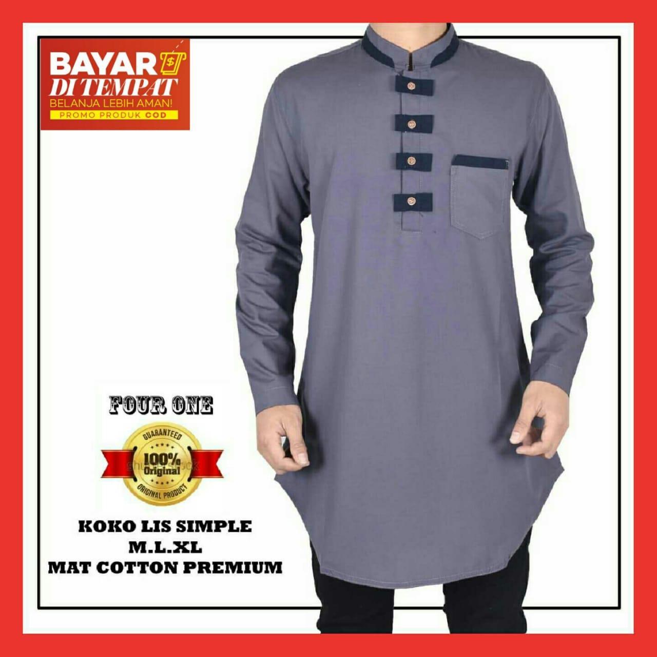 Fitur Zoeystore 5867 Baju Koko Pria Exclusive Baju Muslim Pria Baju