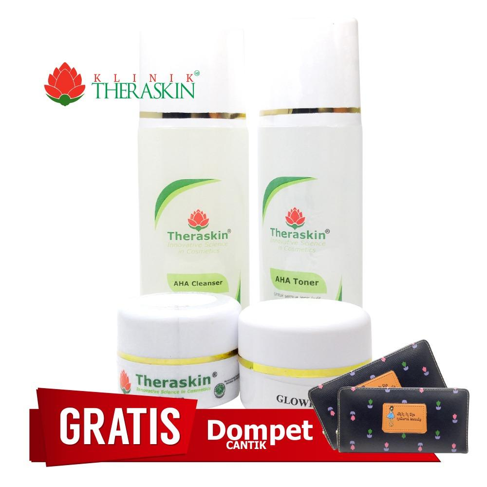 Cream Theraskin Paket Glowing Untuk Flek Ringan / Paket Theraskin Flek Ringan / Glowing Cream Step 1