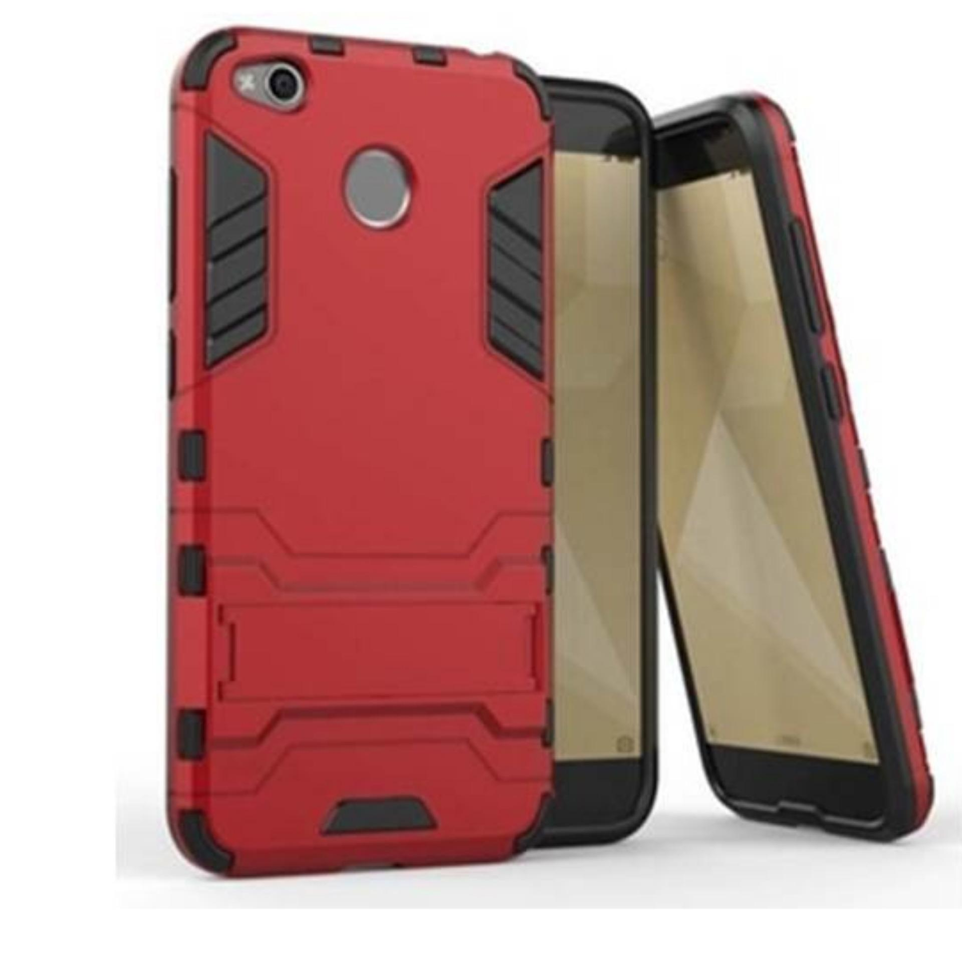 CASE ROBOT TRANSFORMER HARDCASE IRON MAN WITH STANDING FOR XIAOMI REDMI 4X LIMITED .