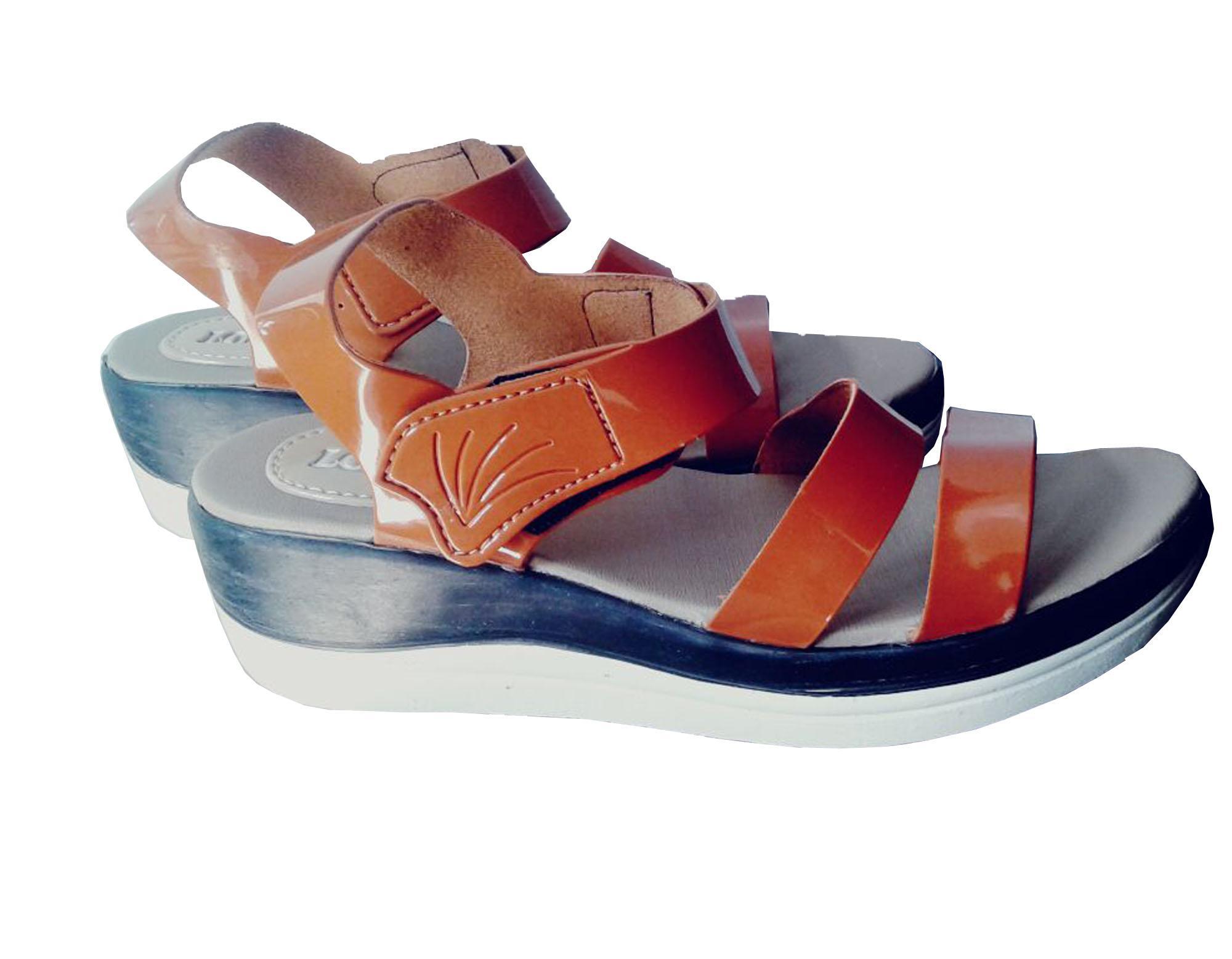 Diky noval/ sandal wanita/ sandal wedges/ sandal kerja/ sandal santai/ sandal