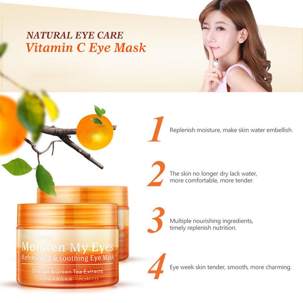 Fitur Acelit Eyes Patch Vc Eye Mask Lady Vitamin C 36pcs Pack Dark Bioaqua Brighteyes Ball Design Penghilang Mata Panda Recommended Circles Removal