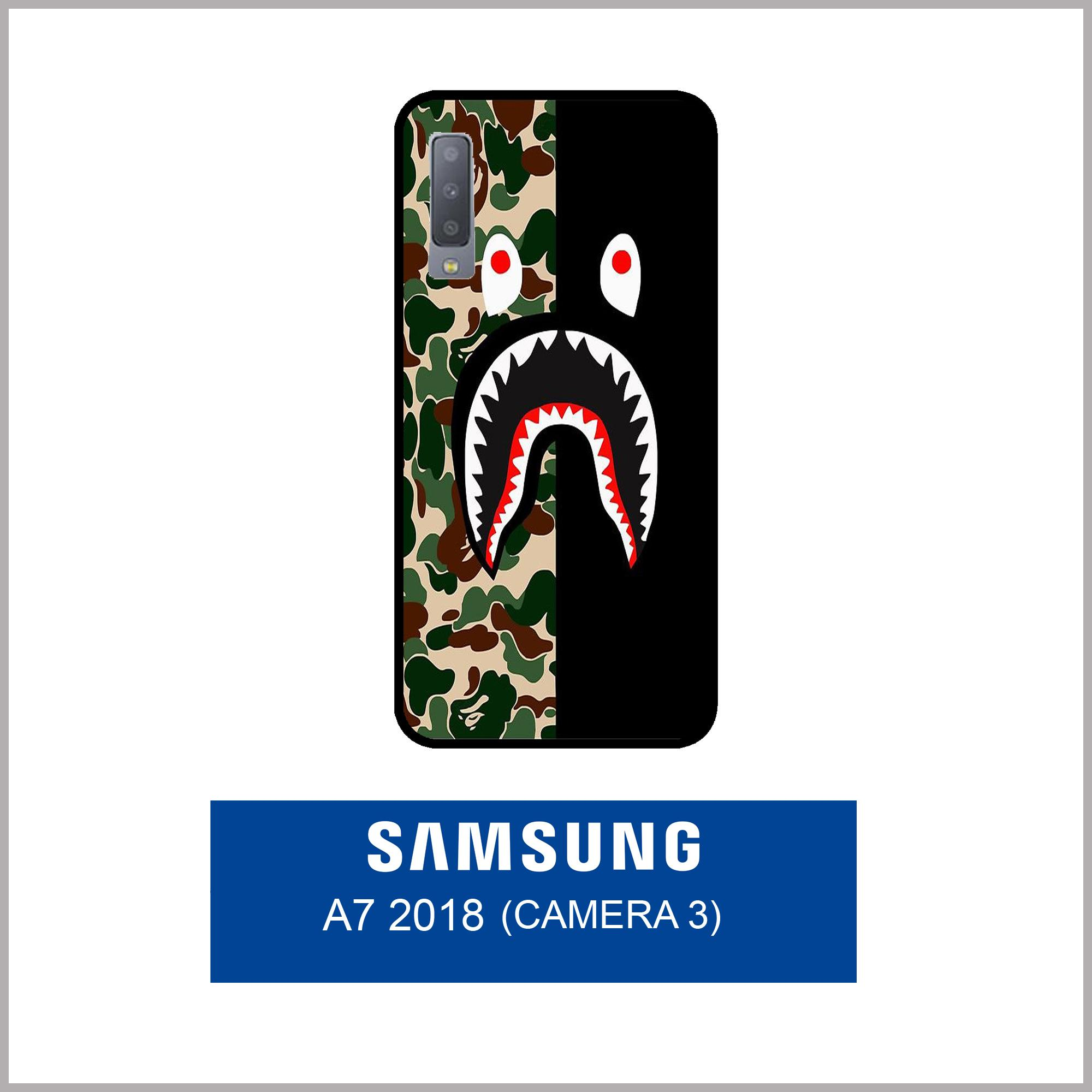Features Case Fashion Printing For Samsung Galaxy A7 2018 3 Camera 6