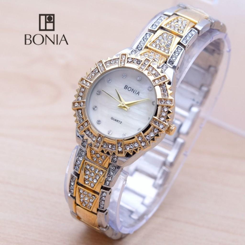 ... Rosso Jam Tangan Wanita Silver Komb Gold Ring Gold ... - jam tangan wanita Fossil blue stainless. Source · Jam Tangan Wanita Bonia Mini Diamond Rantai