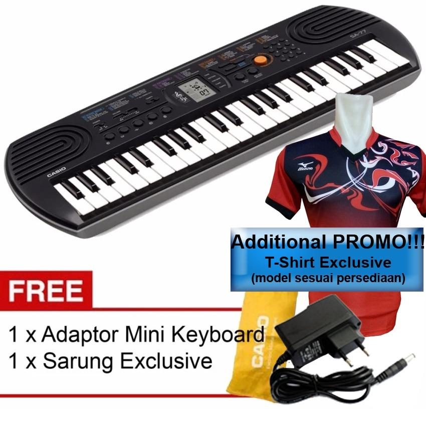 Diskon Casio Mini Keyboard Sa 77 Include Adaptor