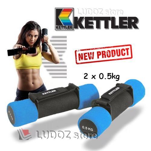 Review Kettler Aerobic Soft Dumbbell 1Kg Pair 2X 5Kg Fitness Senam Aerobic Dumbell 0930 Di Dki Jakarta