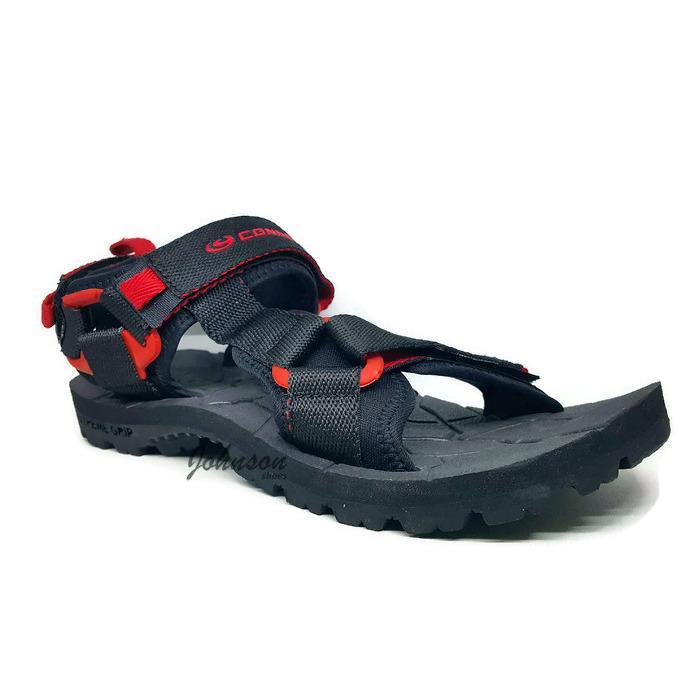 [ Johnson Shoes ] Sendal / Sandal Gunung Lebaran Hiking Pria CONNEC - BALKAN 100% ORIGINAL