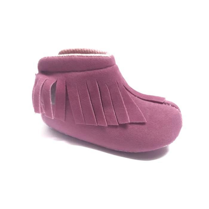 Sepatu bayi prewalker perempuan boots Koboy - 2
