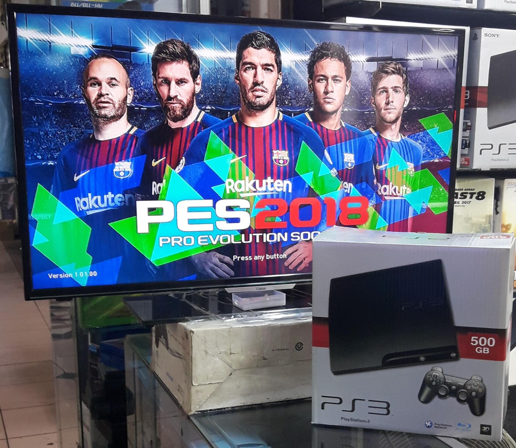 PS3 SLIM HARDISK 500GB, FREE GAME terbaru