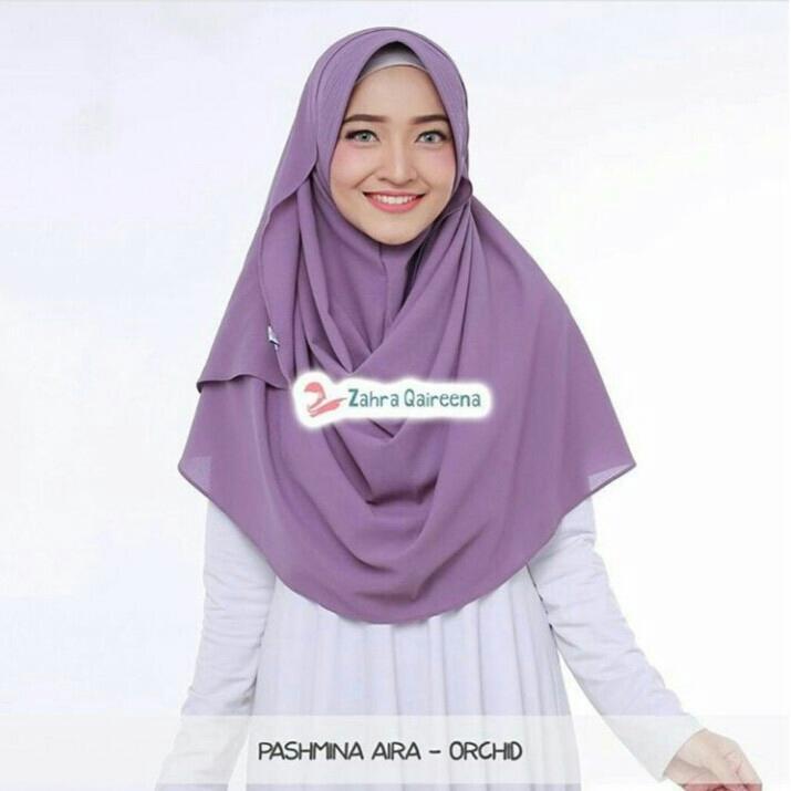 Kerudung/Jilbab/Hijab Pasmina Instan PASTAN PET warna sylver/Tosca/Dusty/