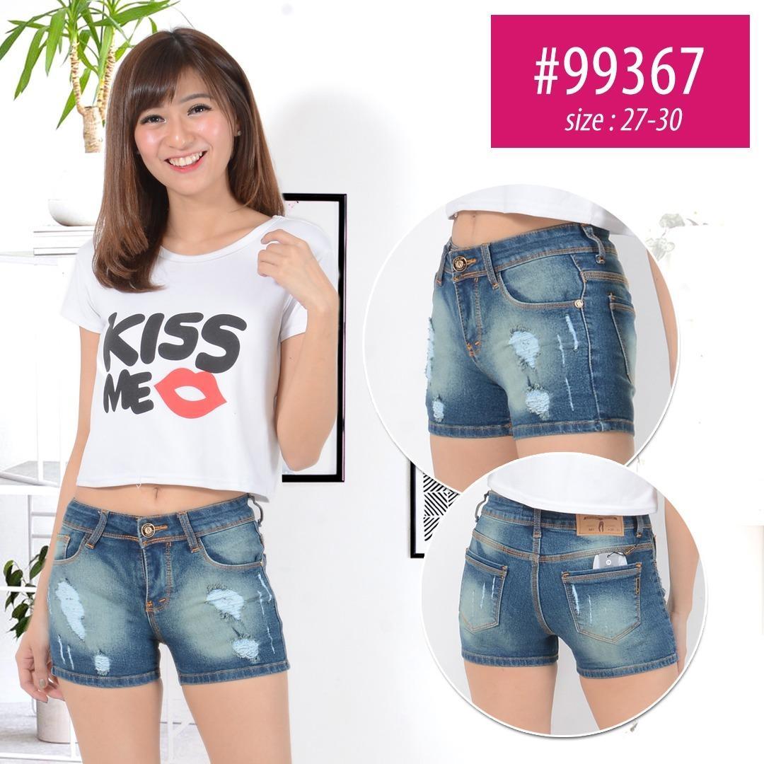 Diskon Besarinfilo Hot Pants Celana Pendek Jeans Wanita Bahan Dijamin Bagus Jahitan Rapi