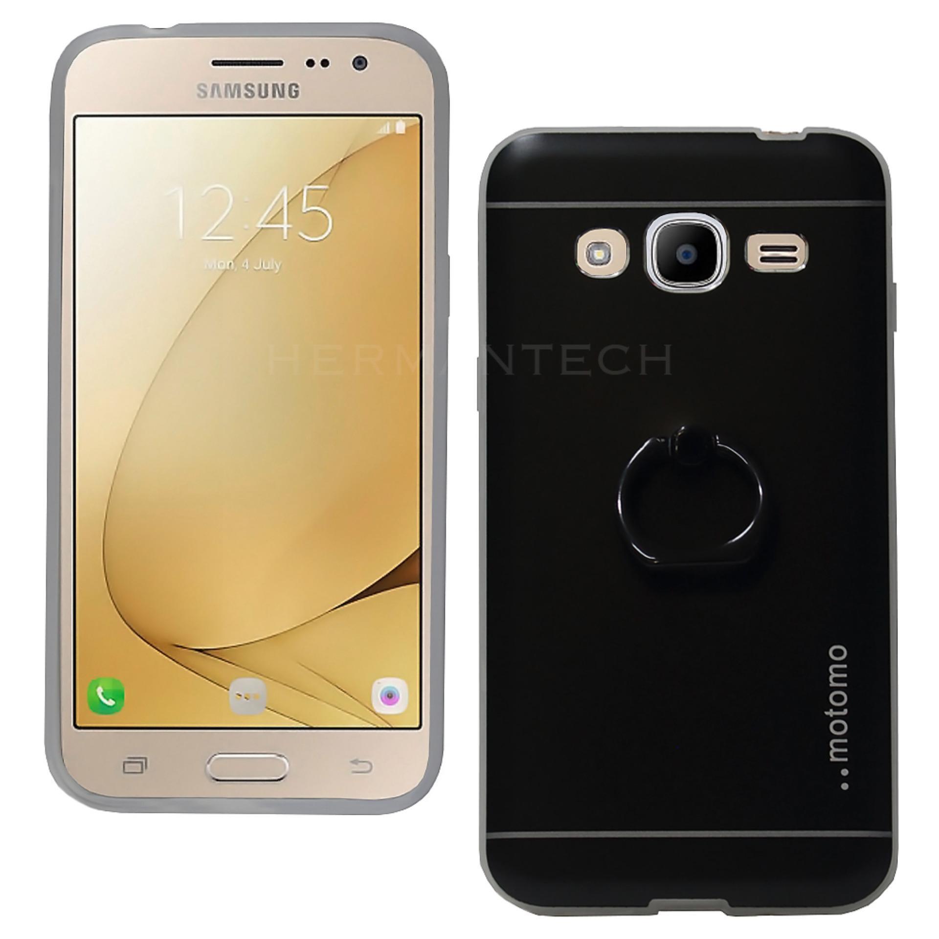 Kehebatan Lcd Samsung Galaxy J2 Pro J210 Full Touchscreen Dan Harga Ace 3 S7270 Putih Motomo Iring Metal Case For 2016 Hitam