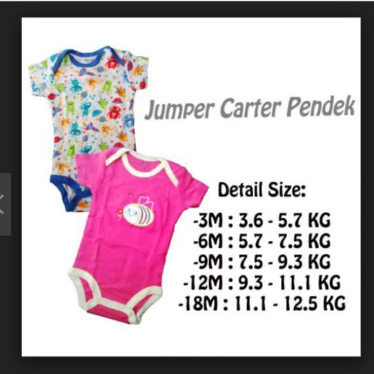 Spesifikasi Jumper Pendek 5 In 1 Anak Cewek Baju Bayi Perempuan Carter Carters Isi 5 Usia 3 6 9 12 Bulan Baru