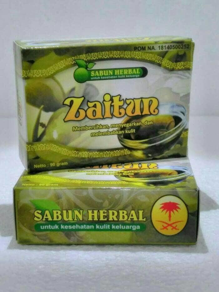 10 botol Free 1 masker. Sabun Zaitun Al Ghuroba - Sabun Herbal .