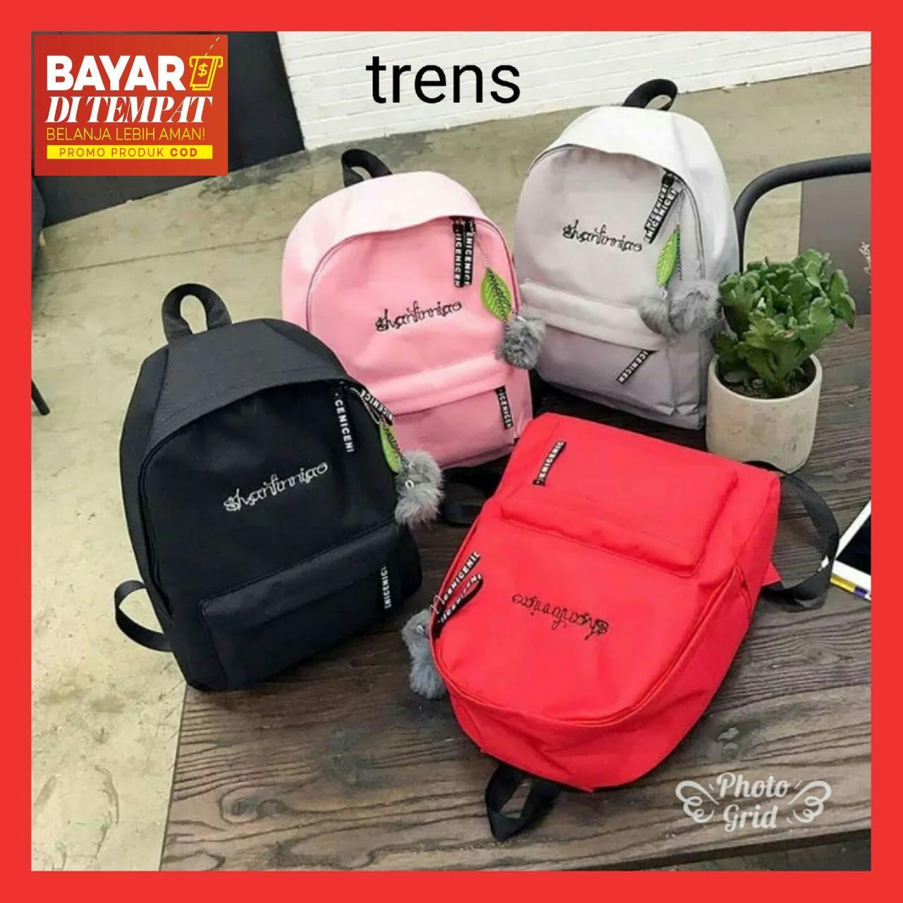 FCS - Tas Wanita   Tas Ransel Wanita   Backpack Model Korean Style Terbaru 79737058cb