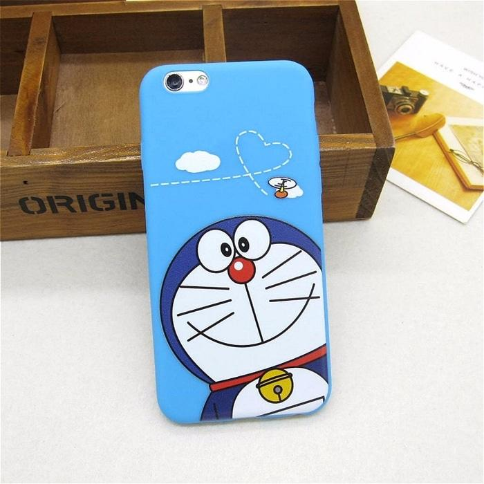 Casing Soft Case for Oppo F5 F7 A37 A57 A71 A83 Doraemon Blue Cat