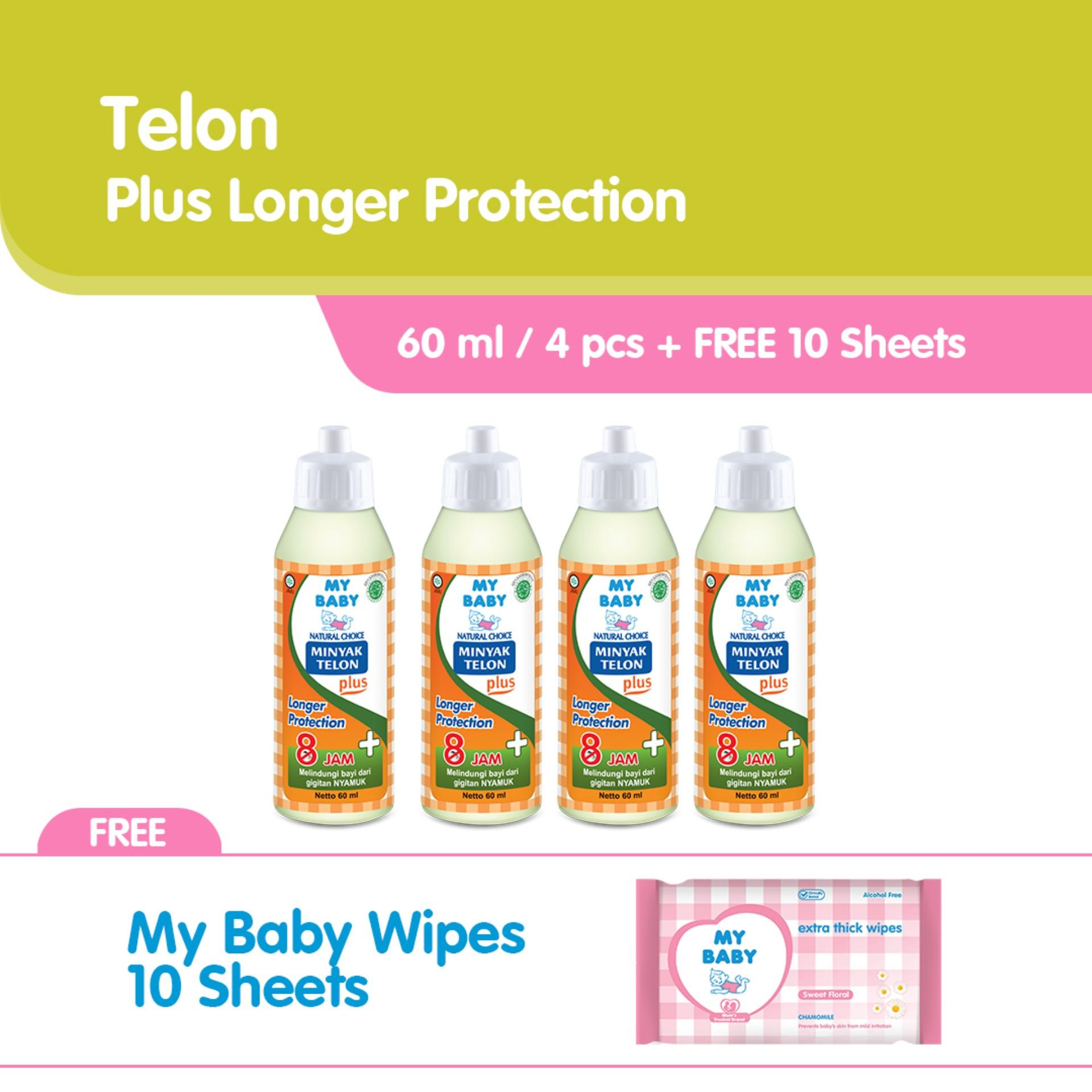 My Baby Minyak Telon Longer Protection 90 Ml Produk Terbaik Wiki Harga Purekids Aise Belly 60ml Free Tissue Basah Plus 60 Isi