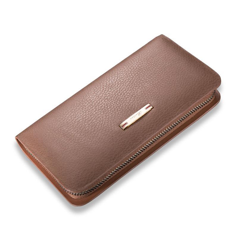 Botlav J.benato Kapasitas Besar Kulit asli tas tangan tas tangan pria banyak tempat kartu