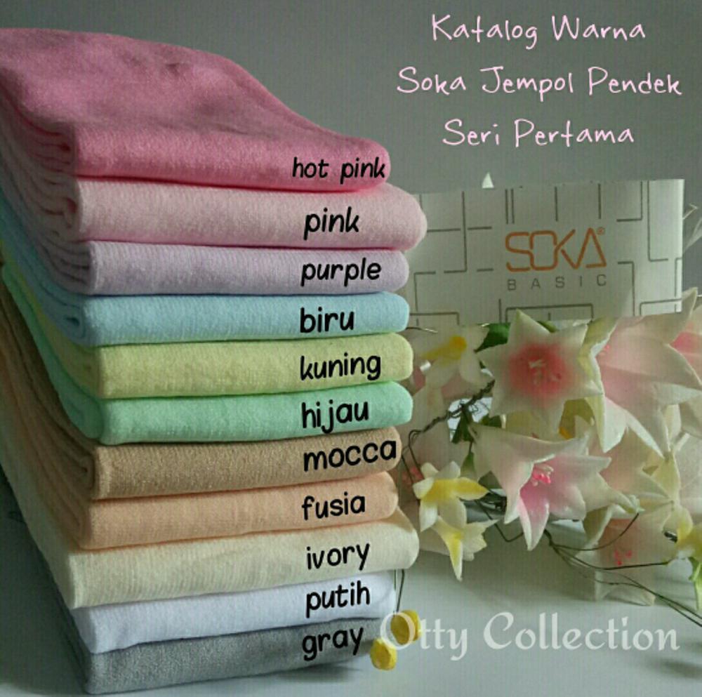 Soka Kaos Kaki Jempol Polos Pendek Paket 6 Multicolor Page 3