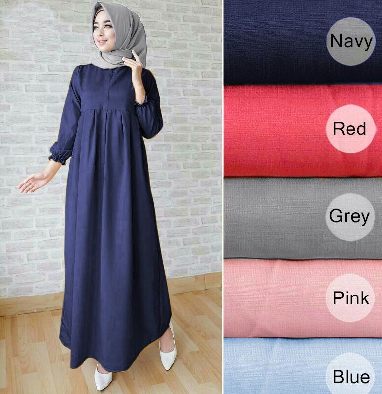 HagiosHolic Dress Maxi Arini Wanita / Dress Wanita / Fashion Wanita / Dress Pesta / Dress