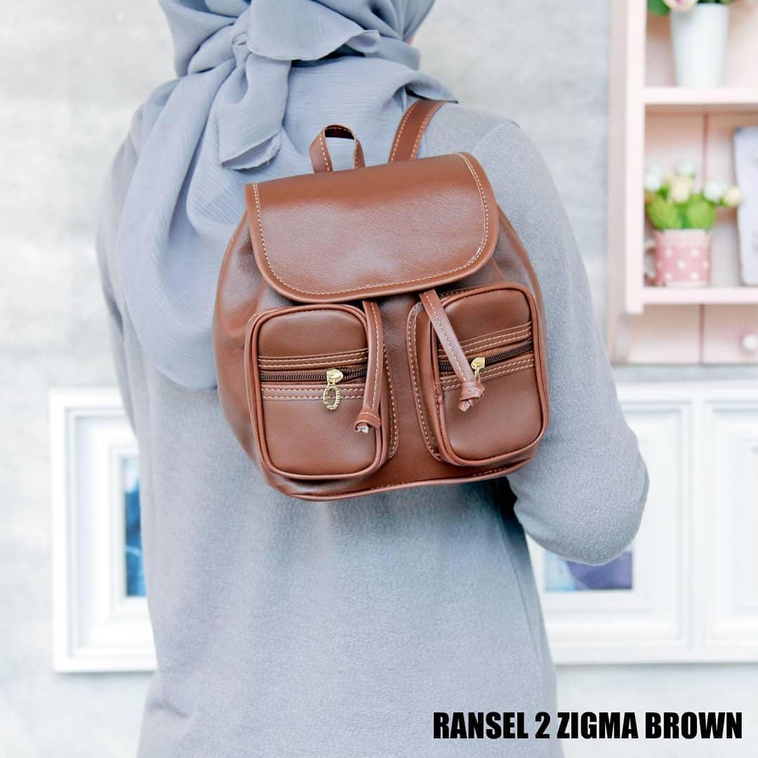 Kelebihan Tas Wanita Ransel 2 Zigma Brown Terkini Daftar Harga Dan Detail Gambar Terbaru
