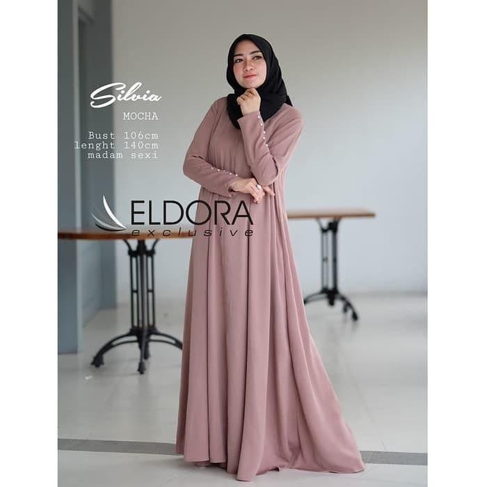 Features Vebrina Dress Baju Gamis Wanita Baju Gamis Wanita Terbaru