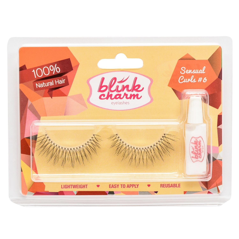 Blink Charm Eyelashes Natural Flair 2 Isi 4 Pasang Rambut Asli Bulu Mata Qly Export Quality Sensual Curls 6 1 Pair
