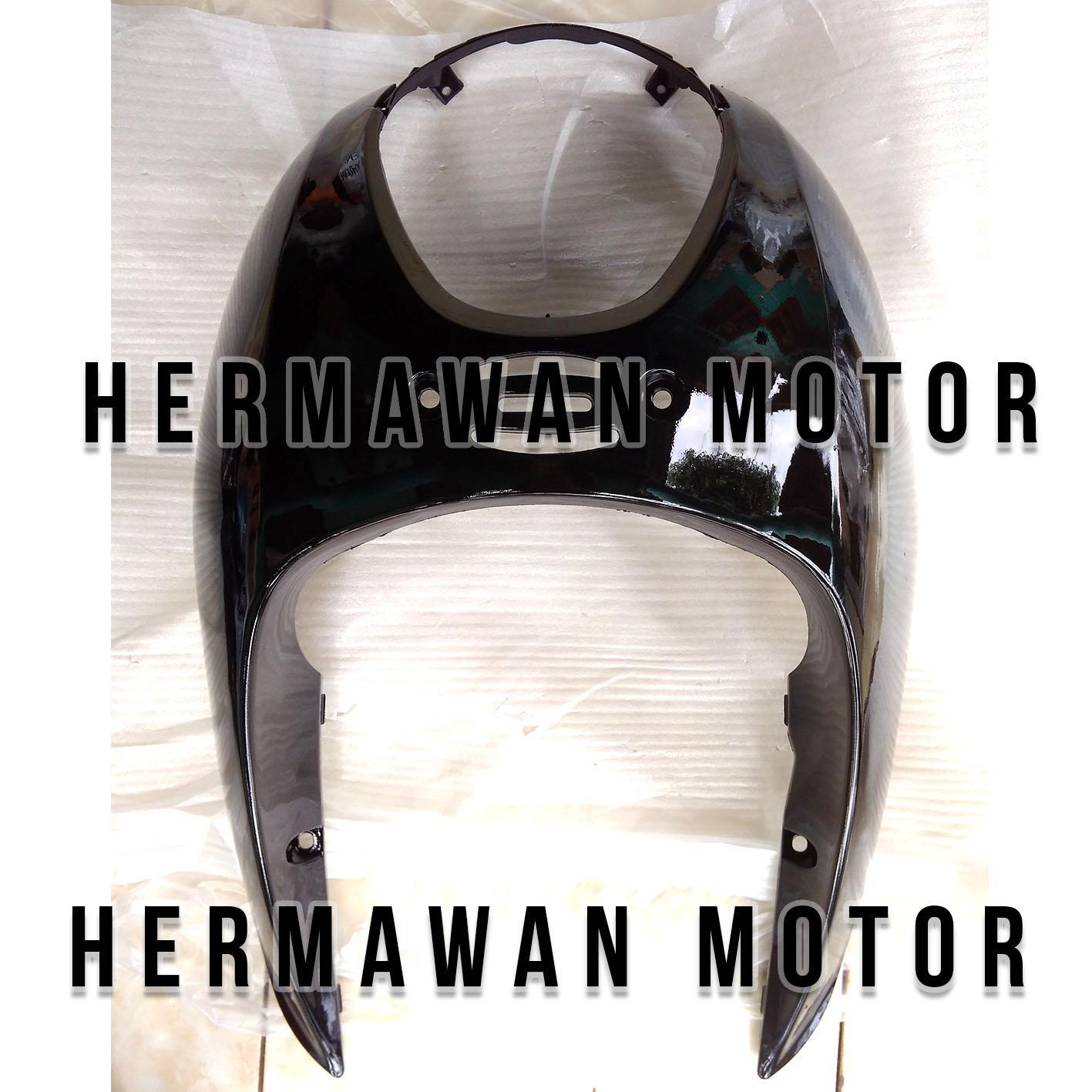 Tameng depan Honda scoopy karbu warna hitam