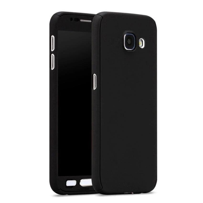 Hardcase Case 360 Samsung Galaxy J7 Prime Casing Full Body Cover + Free Tempered Glass -