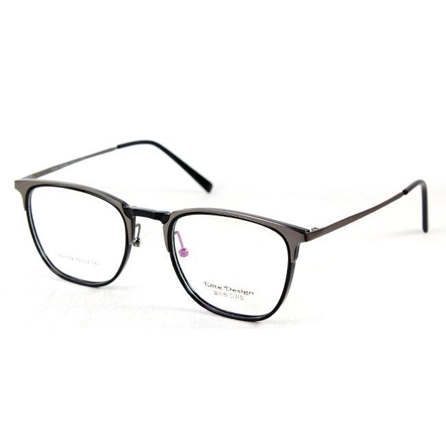 Fitur Frame Kacamata Casual Pria Wanita Zoom Zo890 Black Transparant ... 7d0e0b2a57